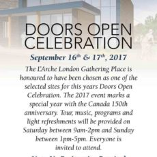 Doors Open Celebration (Sep 16-17, 2017)