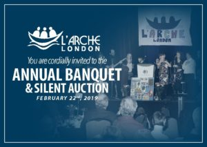 draft banquet flyer l arche london