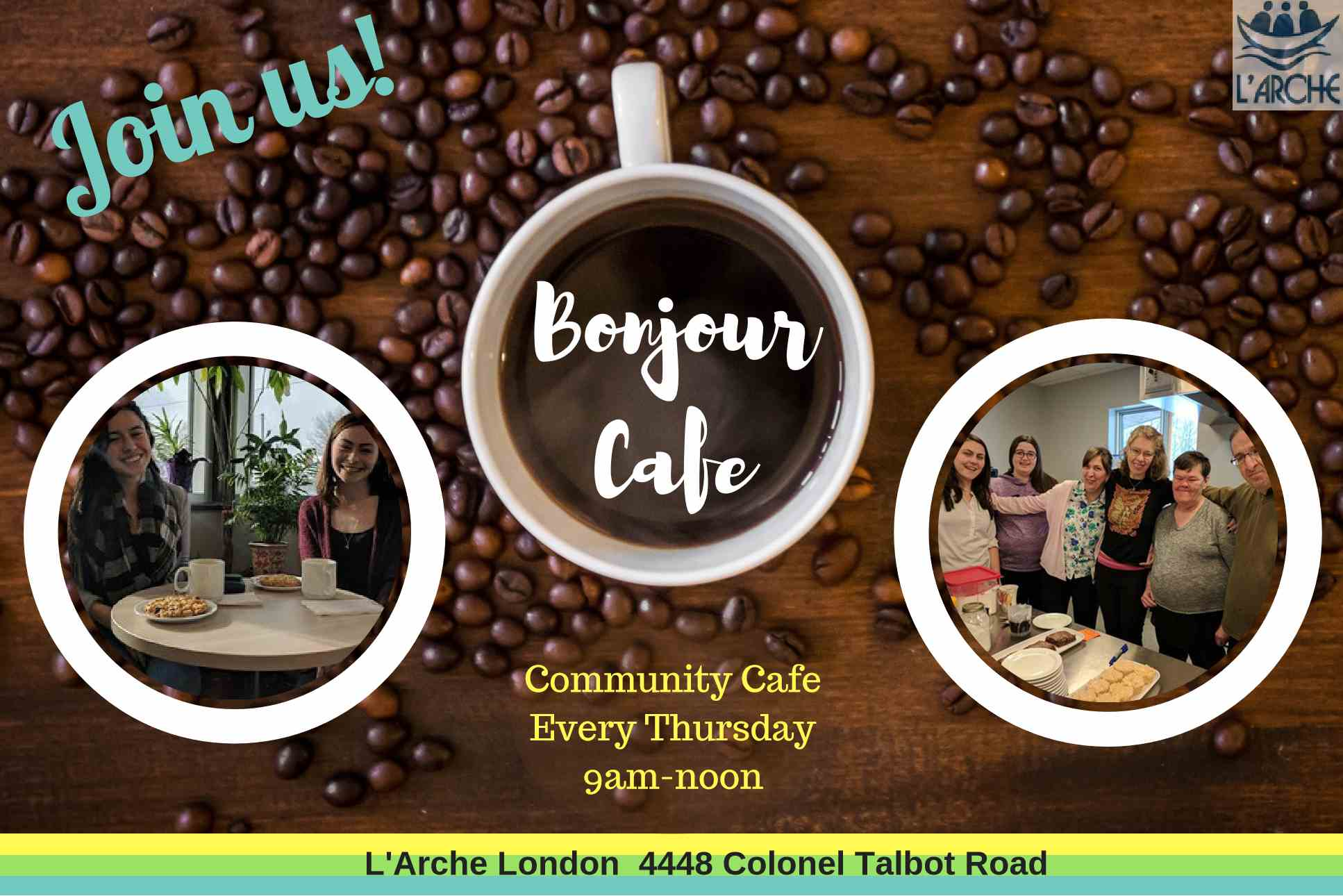 Visit Our Bonjour Cafe On Thursday S From 9 Am To 1pm L